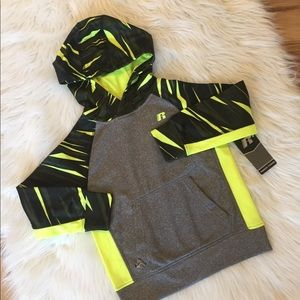 Russell Athletic Shirts & Tops - Performance Hoodie Boys Pullover XS 4 5 New
